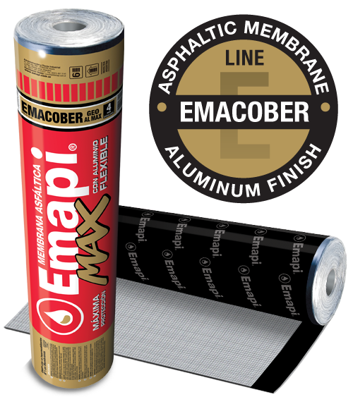 EMACOBER GEO AL MAX - FLEXIBLE ALUMINUM - 4 mm