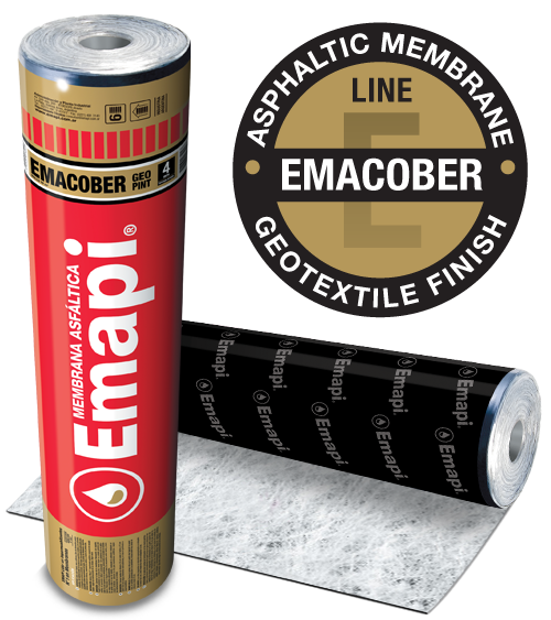 EMACOBER GEO PINT - POLYESTER GEOTEXTILE - 4 mm