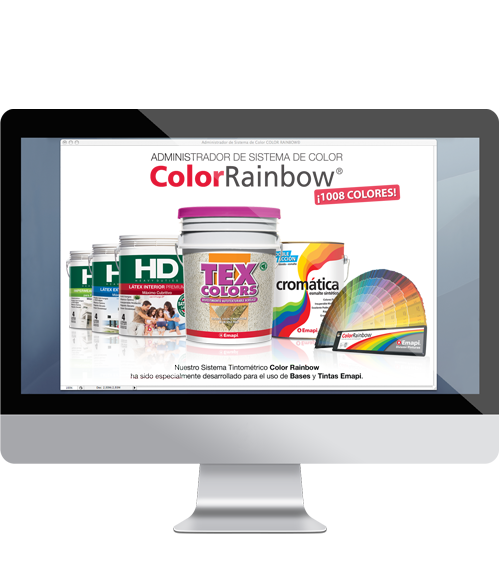 COLOR RAINBOW - TINTOMETRIC SYSTEM  SOFTWARE