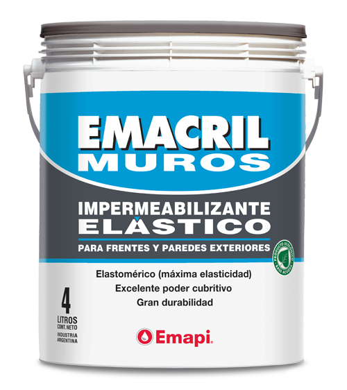 EMACRIL MUROS - WATERPROOF COATING