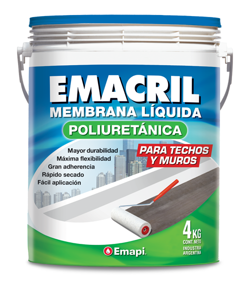 EMACRIL POLYURETHANE - WATERPROOF COATING