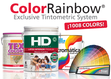 Tintometric System - Color Rainbow